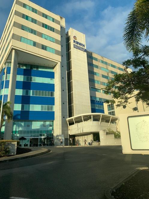 Day 23: UQCCR, Beach, Gold Coast University Hospital, HOTA   AOA